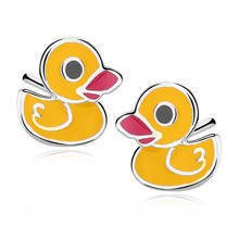 Silver (925) earrings Ducks