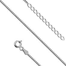 Silver (925) foot bracelet - adjustable size
